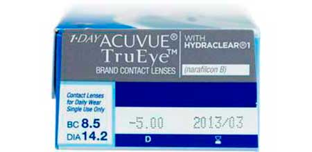 1-Day Acuvue Tru Eye, Johnson & Johnson