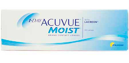 1 Day Acuvue Moist, Johnson & Johnson