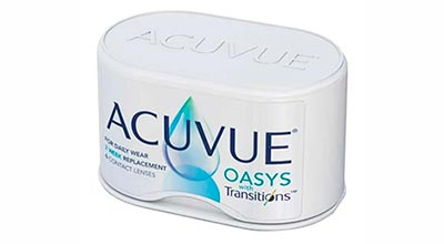 Фотохромные Acuvue Oasys with Transitions