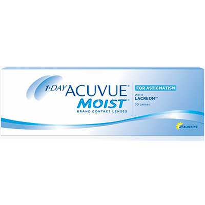 Торичні лінзи 1-Day Acuvue Moist for Astigmatism