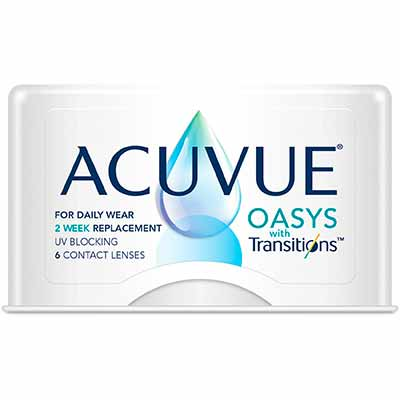 Фотохромні Acuvue Oasys with Transitions