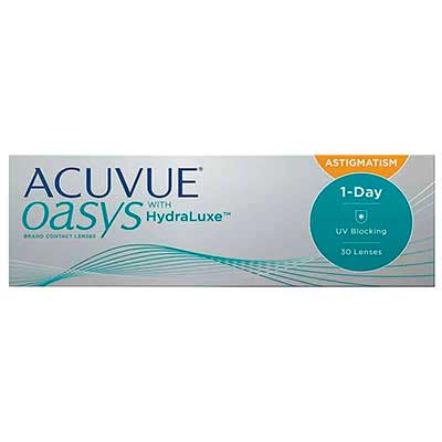 Торичні лінзи Acuvue Oasys 1-Day for Astigmatism