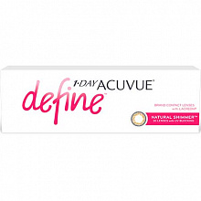 1-Day Acuvue Define Natural Shimmer,  Natural Sparkle