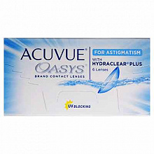 Acuvue Oasys for Astigmatism, Johnson & Johnson